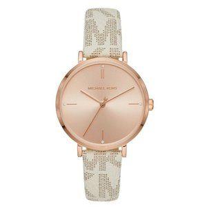 Michael Kors MK7128 Jayne Rose Gold Vanilla Watch